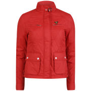 Le Breve Women's Wayan Lightweight Jacket - Red