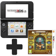 Nintendo 3DS XL Black: Bundle includes Professor Layton and the Azran Legacy