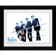 The Beatles Blue - Collector Print - 30 x 40cm