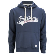 Jack & Jones Men's Vintage Access Hooded Sweatshirt - Navy