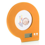 Cook In Colour 5kg Digital Glass Kitchen Scales - Orange