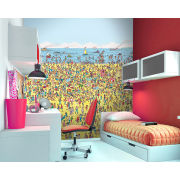 Where's Wally Beach Wall Mural