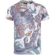Soul Star Men's Sirens T-Shirt - White