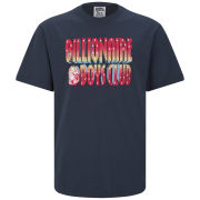 Billionaire Boys Club Men's 3D Straight Logo T-Shirt - Peacoat