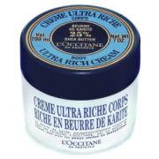 L'Occitane Ultra Rich Shea Body Butter Cream 200ml