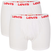 Levi's Men's Ethan 2-Pack Boxer - White