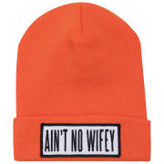 Dimepiece Women's Ain't No Wifey Beanie - Orange