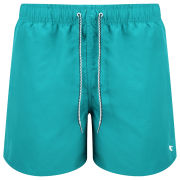 Ted Baker Men's Flitt Hand Drawn Herringbone Swim Shorts - Green