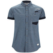 Smith & Jones Men's Revell Short Sleeve Shirt - Blue