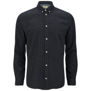 Suit Men's Paco Polka Dot Shirt - Navy