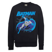 DC Comics Sweatshirt - Batman Leap - Black