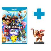Super Smash Bros. for Wii U + Diddy Kong No.14 amiibo