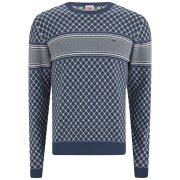 Lacoste L!ve Men's Seasonal Knitted Jumper - Blue