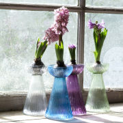 Nkuku Hyacinth Bulb Vase - Light Green - 16 x 9cm