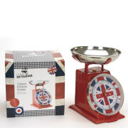 Cool Britannia Classic Kitchen Scales in Colour Box