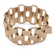 Kardashian Kollection KK Gate Chain Bracelet - Gold