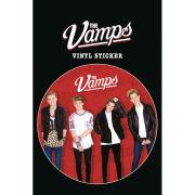 The Vamps Red Vinyl Sticker 10 x 15cm