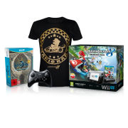 Wii U Bayonetta 1 + 2 First Print Edition Action Pack (T-Shirt - Extra Large)