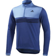 adidas Response Plures Long Sleeve Jersey - Blue