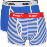 Bench Men's 2-Pack Boxers - Blue