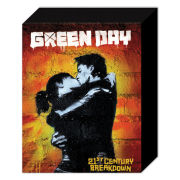 Green Day 21st Century - 50 x 40cm Canvas