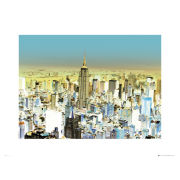 New York Glowing - 60 x 80cm Print