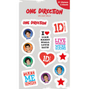 One Direction Forward (Vinyl) - Vinyl Sticker Pack