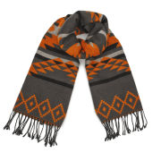 ONLY Women's Sue Ethnic Scarf - Burnt Ochre