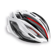 Met Estro Helmet - White/Black/Red