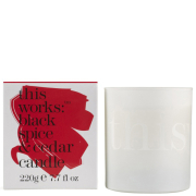 this works Candle - Black Spice & Cedar (220g)