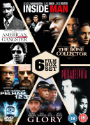 The Taking of Pelham 1 2 3 / American Gangster / Inside Man / The Bone Collector / Philadelphia / Glory - Slimline Version