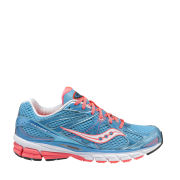 Saucony Women's Guide 6 Running Shoe - Blue/Vizipro Coral