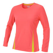 Saucony Women's Fastr Long Sleeve Top - Vizipro Coral/Sipher