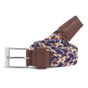 Voi Men's Donald Nylon Weave Belt - Multi