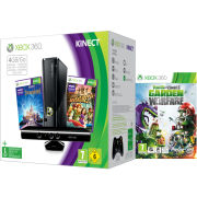 Xbox 360 4GB Kinect Holiday Bundle Includes Plants vs Zombies Garden Warfare