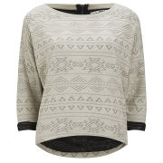 Only Women's Charlie Sweat Top - Oatmeal