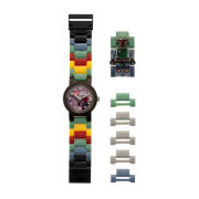 LEGO Star Wars: Kids' Boba Fett Watch Including Figurine (Black Face Ring)