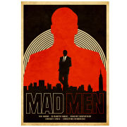 Mad Men - Limited Signed and Numbered Giclee Print