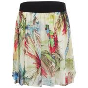 MILLY Women's Elastic Grosgrain Skirt - Multi