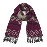 ONLY Women's Sue Ethnic Scarf - Tawny Port