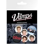 The Vamps Studio Badge Pack 10 x 15cm