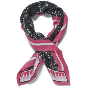 Marc by Marc Jacobs Skull Bandana Scarf - Knockout Pink Multi