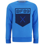 Boxfresh Men's Hadal Crew Neckline Sweat - Brilliant Blue