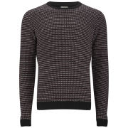 Suit Men's Orla Fairisle Crew Neck Knitwear - Red/Navy/White