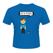 Star Trek Men's T-Shirt - Bones Talking Trexel - Blue