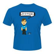 Star Trek Men's T-Shirt - Bones Talking Trexel - Blue