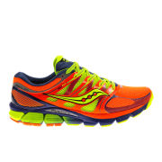 Saucony Men's Zealot ISO Running Shoes - Orange/Blue/Yellow
