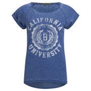 Brave Soul Women's Cali T-Shirt - Navy