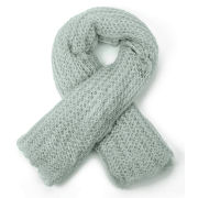 Vero Moda Women's Olivia Knitted Scarf - Green