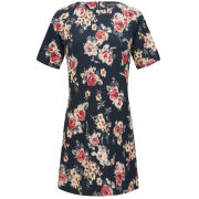 Girls On Film Women's Floral Tunic Dress - Multi